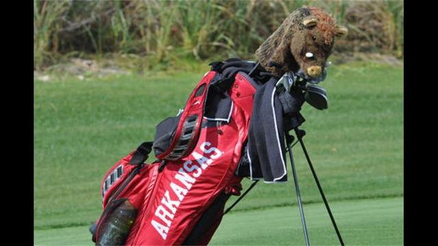 Weather Suspends Start Of NCAA Championships For @RazorbackMGolf