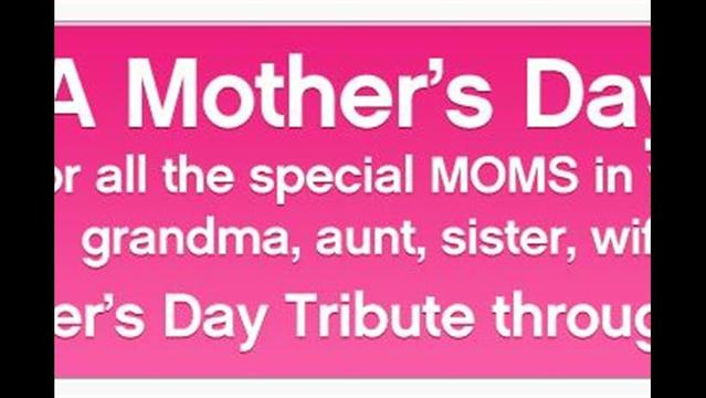 Honor Your Mother With A SPSF Tribute