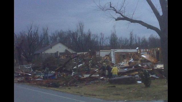 Bentonville Storm Debris Cleanup Scheduled