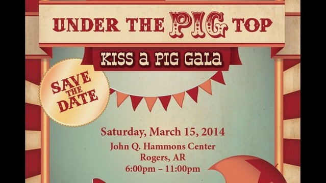 Kiss a Pig Gala Raises More than a Million $ in Diabetes Fight