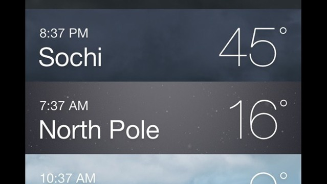 North Pole VS. Northwest Arkansas? NWA Wins!