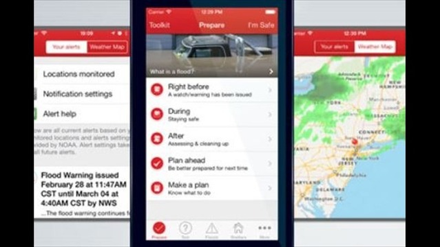 American Red Cross Creates Flood App to Save Lives