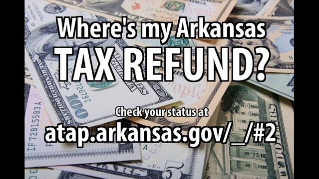 Where's Your Arkansas State Tax Refund?