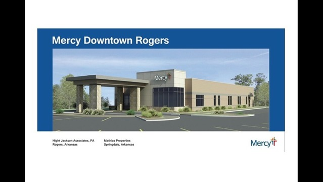 Mercy NWA Part of Newest Addition to Downtown Rogers