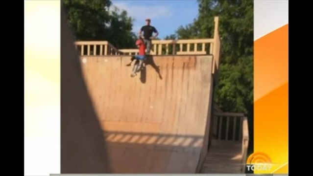 Watch: Dad Banned From Skate Park After Kicking Son Down Ramp