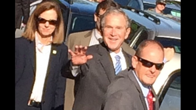 Pres. George W. Bush in NWA Thursday