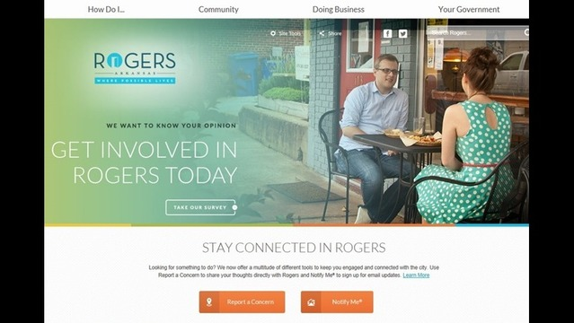 City of Rogers Launches New Website