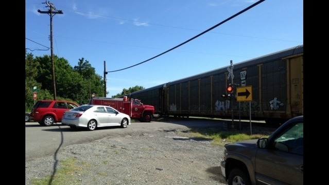Child Killed When Train Collides with Car