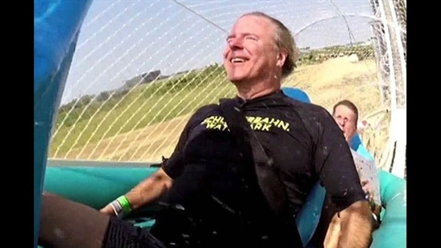 Watch: Reporter Takes You Down the World's Tallest Waterslide
