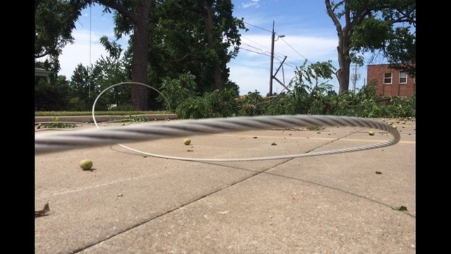Wind Wreaks Havoc On NWA Power Lines