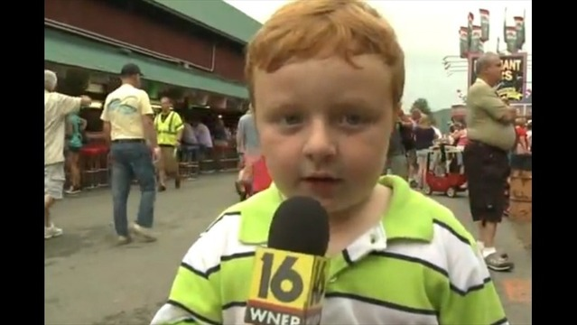 Watch: Kid Takes Over Newscast, Steals the Show