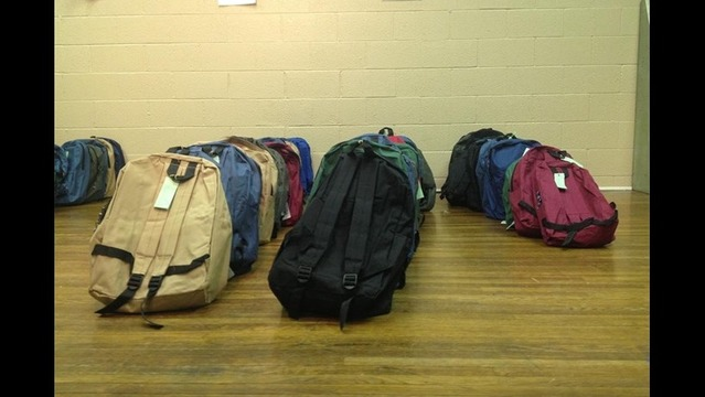 Central Arkansas Tornado Survivors Get Help Going Back to School