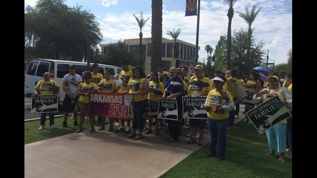 Immigrant Advocacy Group Returns From Trip to the Border