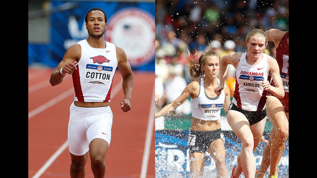 Arkansas Excels On Gloomy Day Seven At Trials