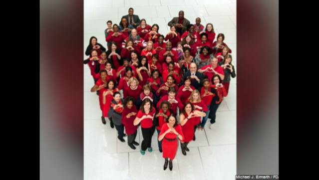Greenwich urges wearing red Friday for women's heart disease awareness