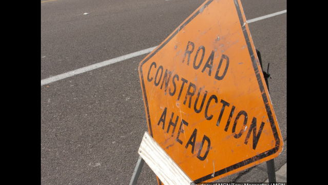Lane Closure on College Ave. for Road Work