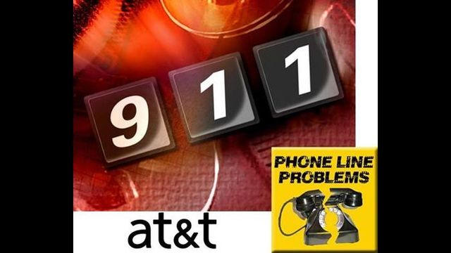 AT&T outage repaired after local 911 service interruption