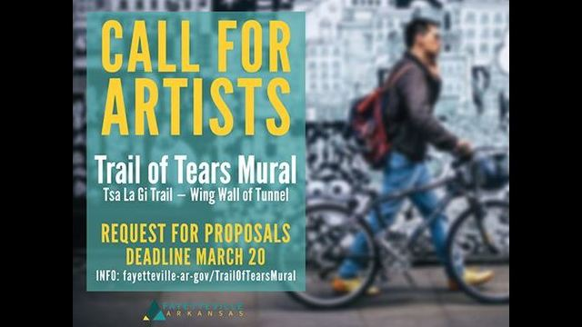 Deadline to Apply to Paint Trail of Tears Mural