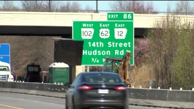 I-75 traffic down to one lane Tuesday and Wednesday