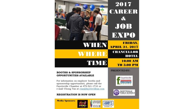 Fayetteville Chamber of Commerce Hosts Job Expo