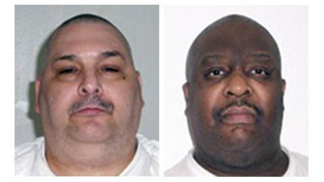 Arkansas prepares for 1st double execution in US since 2000