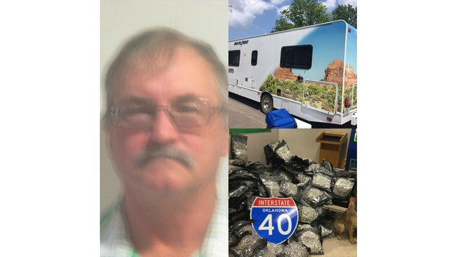 Kansas Man Arrested After Transporting 260 Pounds of Pot in Sequoyah Co.