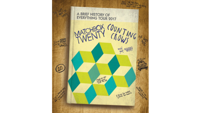 Matchbox Twenty and Counting Crows Giveaway