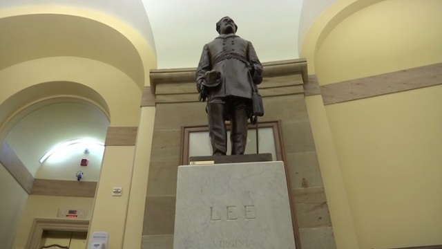 Dems unveil bill to ban Confederate monuments on federal property