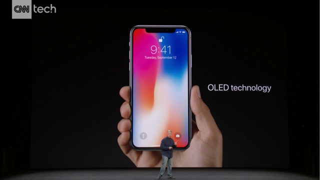 Apple's $999 iPhone X: Face ID, no Home Button