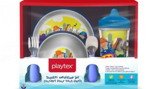 Playtex recalls millions of children's plates, bowls due to choking hazard