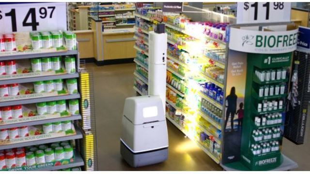 Robots to help stock shelves at 50 Walmart stores