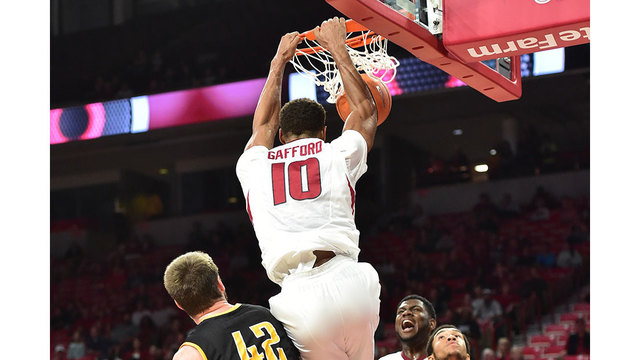 Hogs Close Exhibition Play With Win Over Griffons