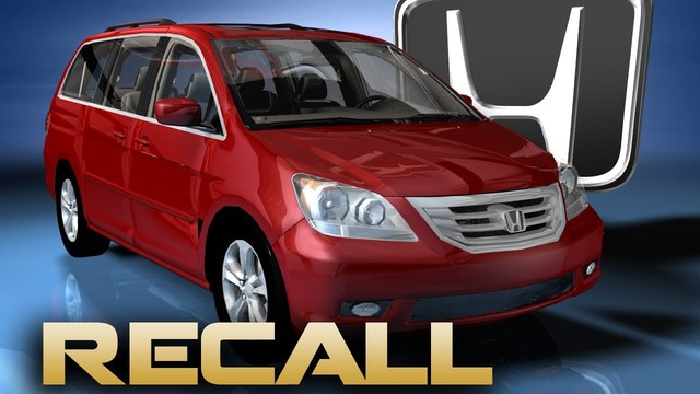 Honda Announces Recall of its Odyssey Minivan