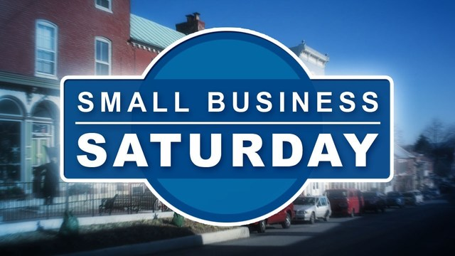 Let's support Small Business Saturday on November  25