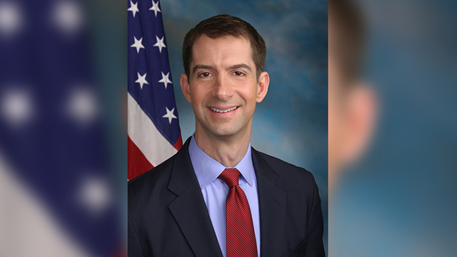 Sen. Cotton Doesn't Recall Trump Making Vulgar Comment at Meeting
