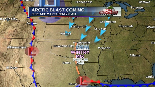 Weather Blog: Bitter Cold Expected for the New Year's Weekend