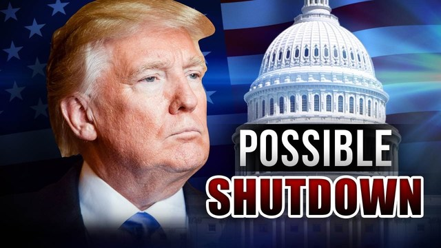 Trump blames Democrats for looming government shutdown
