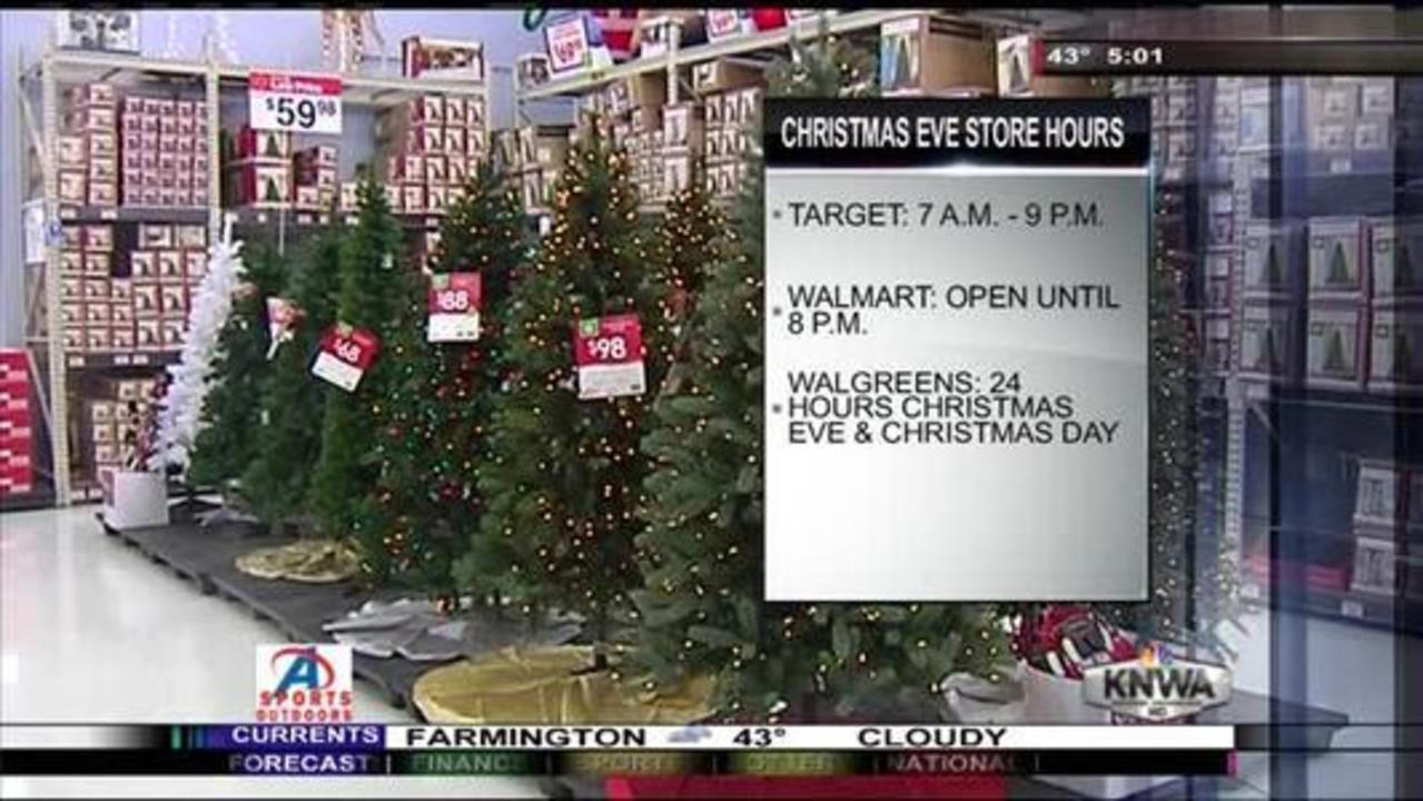 last minute shopping several stores extend hours on christmas eve - Walgreens Open Christmas Day