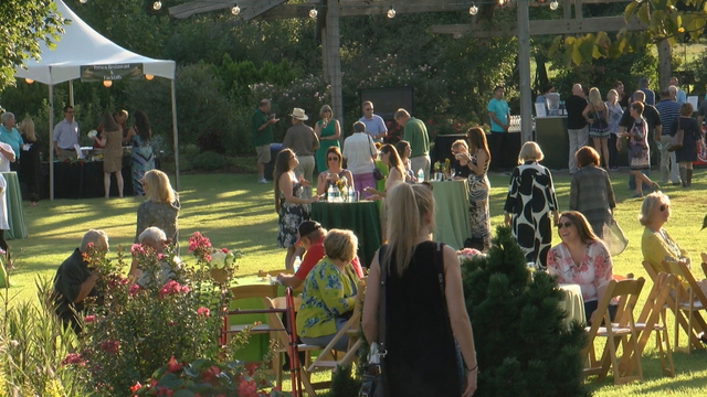 annual chefs in the garden event packs botanical garden of the ozarks with foodies - Botanical Garden Of The Ozarks