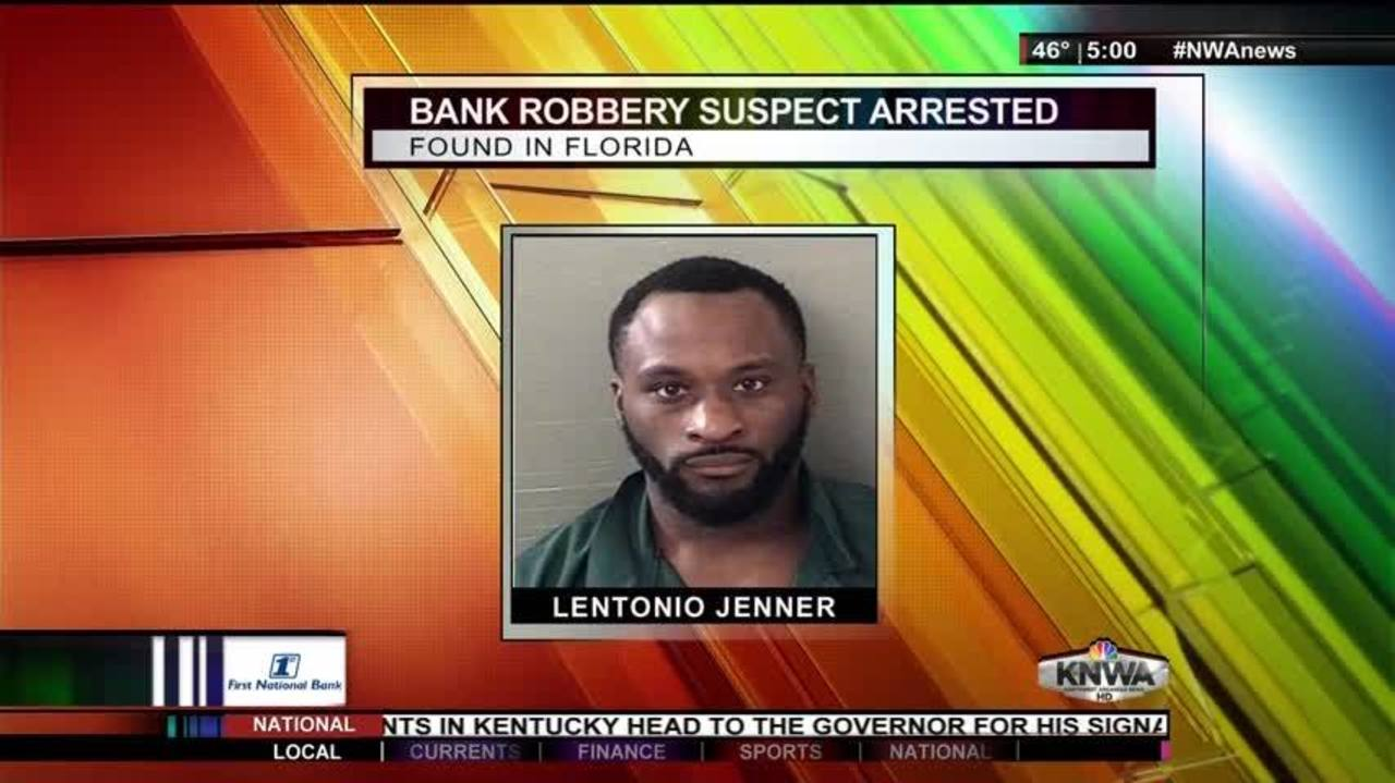 Third Suspect in Arvest Bank Robbery Caught in Florida