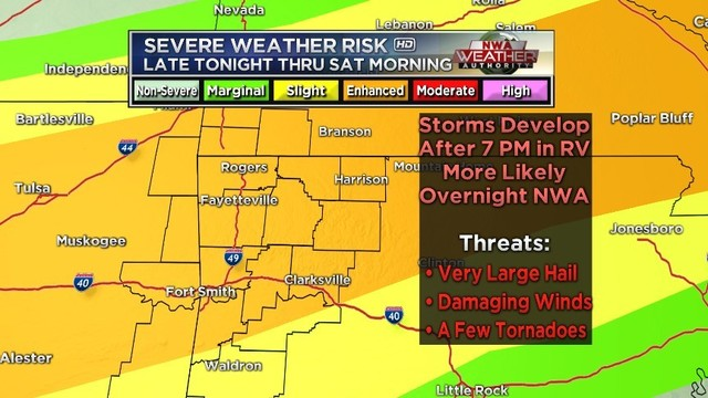 Weather Forecast Still Watching For Severe Storms Friday Into The