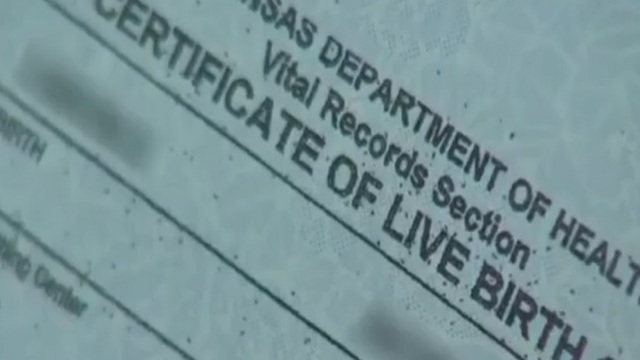 Arkansas Supreme Court Wants State to Change Birth Certificate Law