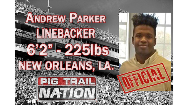Andrew Parker Officially Signs with the Razorbacks