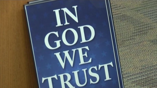 'In God We Trust' Poster Law Goes into Effect