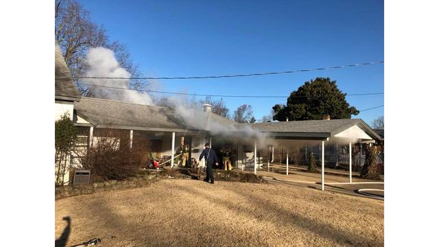 Crews Respond to House Fire in Rogers