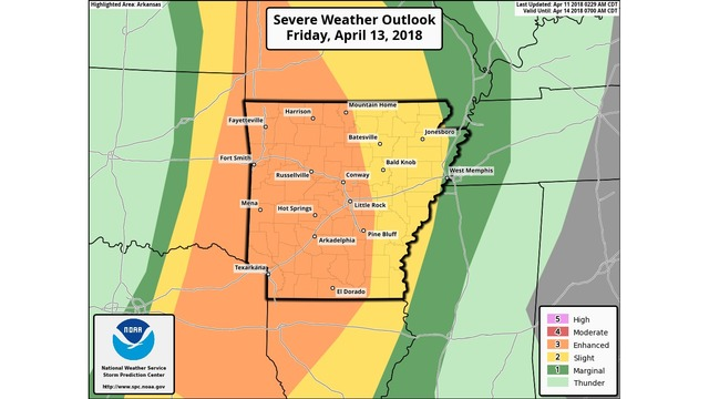 Cold Front Brings Severe Storms To Mid