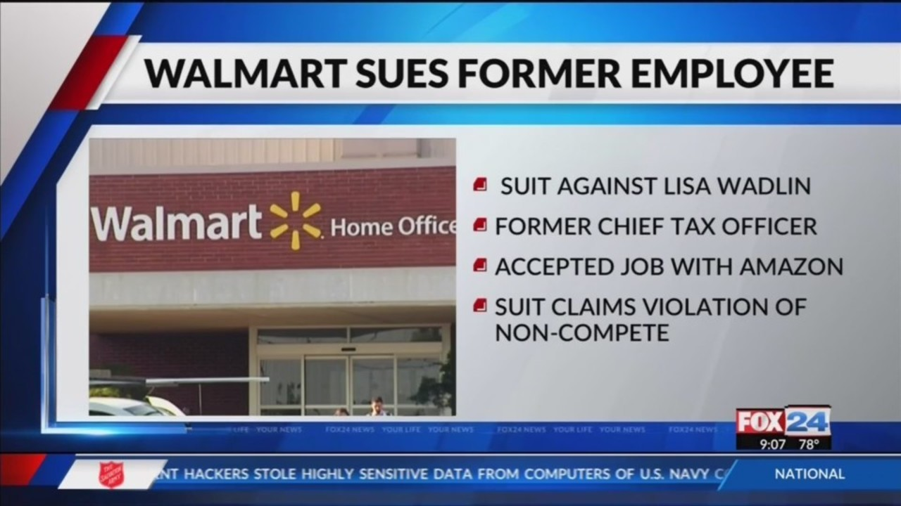 Walmart Sues Former Employee For Going To Amazon