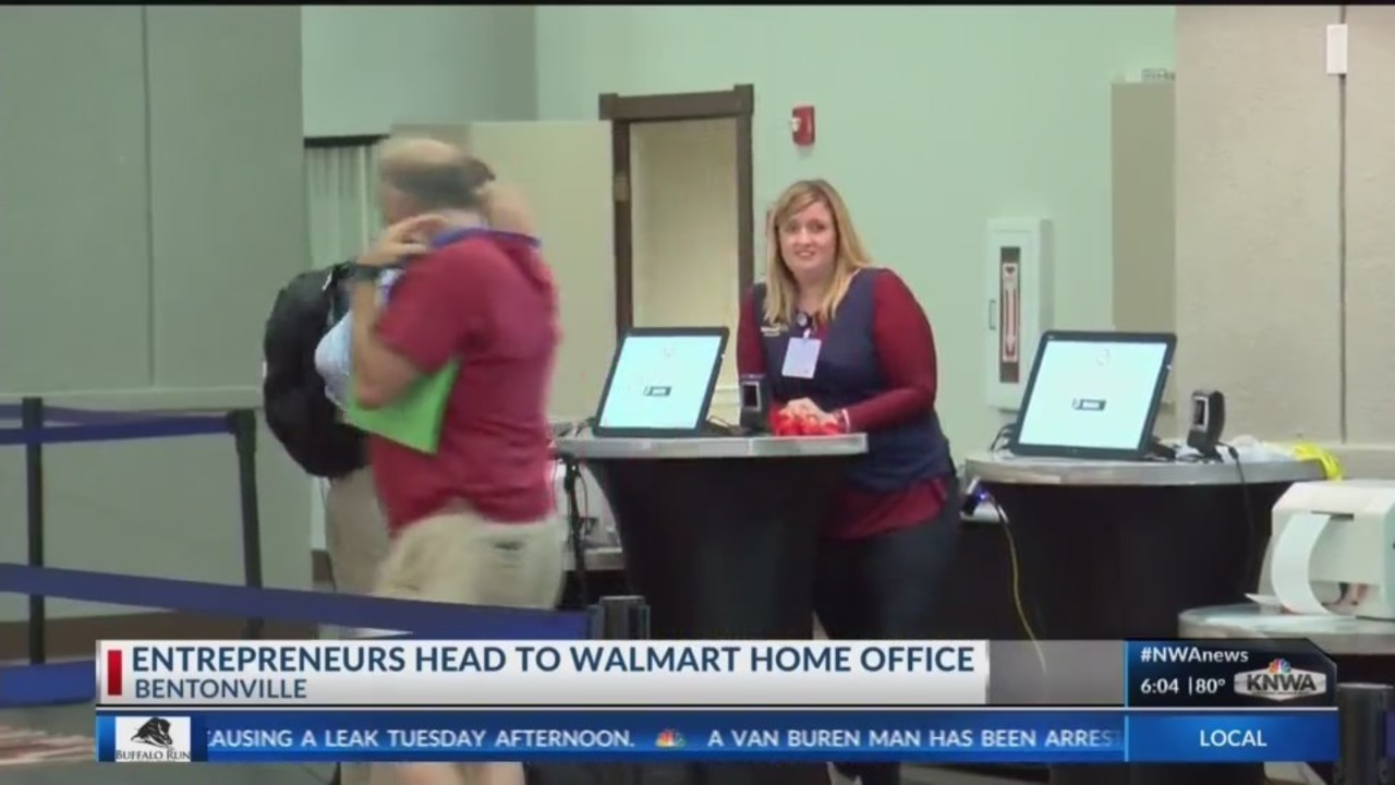 entrepreneurs to vie for product space on walmart shelves