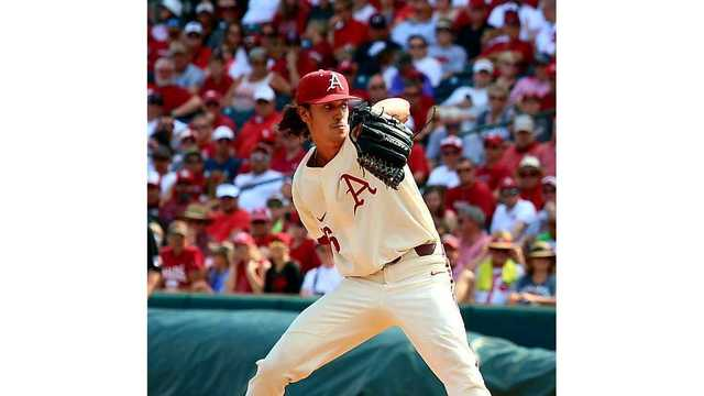 Knight's Return Helps Hogs Return to CWS
