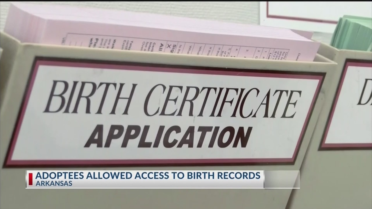Birth Family Records To Become More Accessible For Arkansas Adoptees